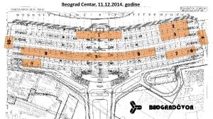 Uvid u stanje na gradilištu (na dan 11.12.2014. godine)
