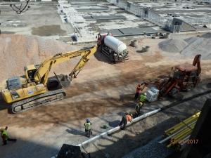 Izvođenje radova na izgradnji pristupnih saobraćajnica